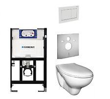 Geberit Spülkasten + Omega 30 + Wand WC + Toilettensitz mit Absenkautomatic