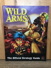 Wild Arms Official Strategy Guide (Playstation 1 PS1, 1997) Dimension Publishing