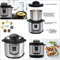 Instant Pot Electric Pressure Cooker 6 Qt 12 In 1 Smart Programmable Slow Cooke
