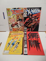 Wolverine Sabretooth Marvel Comic Book Gift Pack X-Men 212 213 Battle Issues