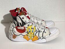 Converse Chuck Taylor All Star Looney Tunes Women's Size 7 Tweetie Bird