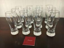 18 Chopes à bière en cristal de Baccarat (prix à l'unité)