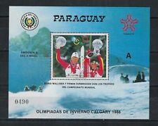 PARAGUAY SCOTT # 2238 CALGARY OLYMPICS MUESTRA SPECIMEN MNH