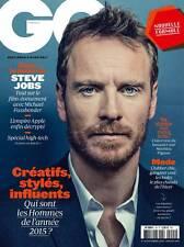 GQ Magazine FRENCH December 2015 Michael Fassbender NEW