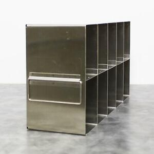 Upright Ultra Low -80 Freezer Rack 10-Sections Side Access with 90-day Warranty