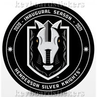 Golden Knights AHL Team - Henderson Silver Knights Inaugural Season Hockey Puck