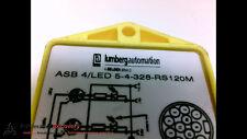 LUMBERGAUTOMATION ASB 4/LED 5-4-328-RS120M DISTRIBUTION BLOCK 4 PORT