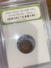 New ListingSlabbed Roman Constantine Great Era Ancient Bronze Coin c330 Ad
