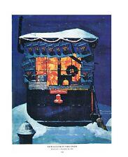 """Norman Rockwell print /""""LOVE/'S REWARD/"""" 30th 40th 50th anniversary 11x15/"""" 8x10/"""""""