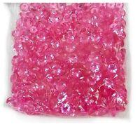 10mm Cerise Scatter Crystals Wedding Table Decoration Acrylic Confetti Diamond