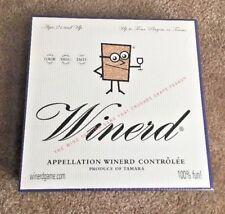 NEW Factory Sealed Winerd Board Game 2003 Wine Tasting Game Crush Grape Fears