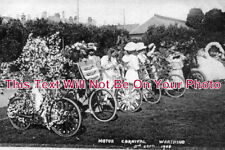 SP 61 - Motor Carnival, Worthing, Sussex 1908 - 6x4 Photo