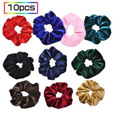 Flannelette Elastic Hair Band For Women Headband Soft  Scrunchies N5R2