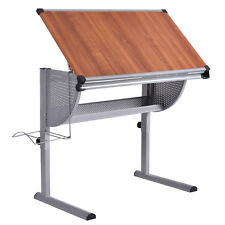 Drafting Table Drawing Desk Adjustable Art & Craft Hobby Studio Architect Work