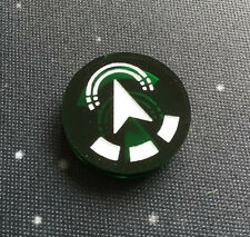 X-Wing Miniatures compatible, double sided acrylic reinforce token x 1