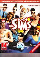 Die Sims Lösungsbuch - für Playstation 2