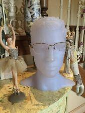 Designer New Authentic Bvlgari Ladies Metal Optical Spectacle Frame