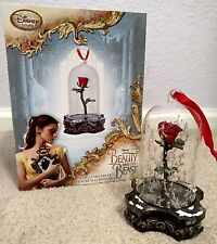 Light Up Rose Ornament Beauty And The Beast Disney Store 2017