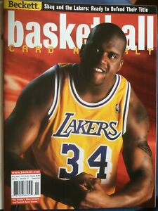 Beckett Basketball Price Guide. November 2000. Shaq (Issue #124).