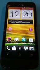 HTC One V - 4GB - Black (Virgin Mobile) Cracked Bad Touch Screen Bad Nav Buttons
