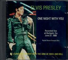ELVIS PRESLEY - ONE NIGHT WITH YOU CD LIVE 1968