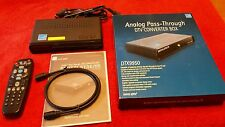 Digital Stream DTX9950 Digital to Analog Television TV Converter New in Box