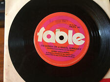 """BOBBY AND LAURIE TRAIN OF LOVE / GONNA BE A WHEEL 45'' SINGLE VINYL RECORD 7"""""""