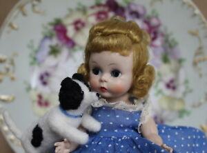 DELIGHTFUL Madame Alexander-kins BKW Blonde Doll 'WENDY COMES TO BREAKFAST'