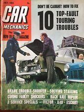 Car Mechanics Magazine July 1965 Victor - A40 - Escort