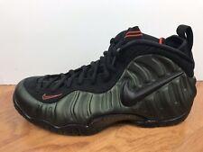"f84265bbe9d01 Men s Nike Air Foamposite Pro ""Sequoia"" Size-11 Green Black Orange (624041"