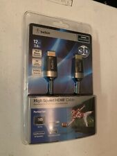 Belkin AV10049-12 HDMI AV Cable 12-foot for SONY 3D blue ray player BDPS590