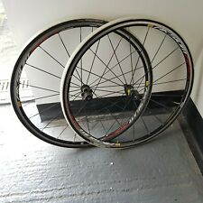 Mavic road wheels damaged rim turbo only.tires included.