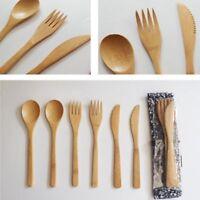 küchen - tool tellern besteck löffel, gabel cutter geschnitten bambus - holz