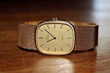 Vintage Mens Omega DeVille Watch 625 Automatic 20 Microns Gold Plated Date 17 J