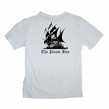 Pirate Bay Torrent File Sharing is Caring Shirt - Sizes S-XL Various Colours