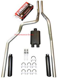 06-08 Dodge Ram Mandrel Bent Dual Exhaust w/ Flowmaster Super 44 Muffler
