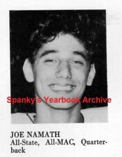 1961 New York Jets Crimson Tide Joe Namath senior High School YB~Super Bowl MVP