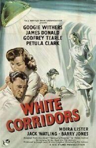 White Corridors - 1951 Googie Withers James Donald Pat Jackson Vintage Film DVD