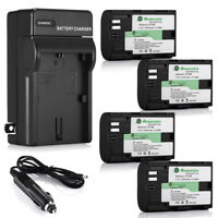 LP-E6 Battery & Charger for Canon EOS 5D Mark II III IV 6D 7D 60D 70D 80D Camera