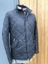 Men's GREY BARBOUR Sports Chelsea Sportsquilt Flyweight COUNTRY Jacket 38/40
