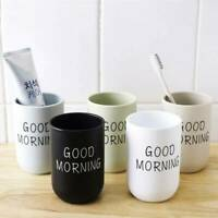 Plastic Travel Home Bathroom Toothbrush Holder Water Wash Cup Gargle Cups