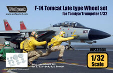Wolfpack WP32004, F-14 Tomcat Late Type wheel set (for Tamiya/Trumpet,SCALE 1/32