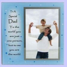 to a Special Dad Father Photo Frame 4x6'' Picture Ideal Gift Lt195