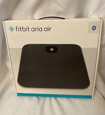 Fitbit - Aria Air Digital Bathroom Scale - Black