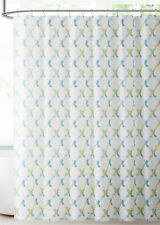 Teal Blue Green  PEVA Shower Liner Odorless Chlorine & Mildew Free Biodegradable