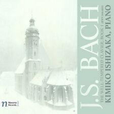 J.S. Bach / Kimiko I - Well-Tempered Clavier - Book 1 [New CD]