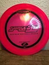 Discraft Z Line Surge Ss - 167-169g - Red with Black Stamp - 9/10 Oop Very Rare