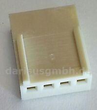100 pcs. Platinen-Steckverbinder Leergehäuse für Crimpverbindungen RM2,54 4-pol