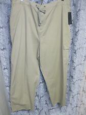Women's 24W Khaki Rich Tan Pants, straight leg, features +, NWT by Relativity