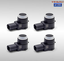 4 Pcs New OEM Reverse Backup Parking Assist Object Sensor PDC For GM 25961321